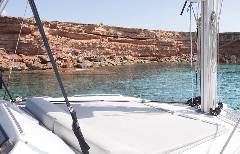rent catamaran ibiza lagoon 450