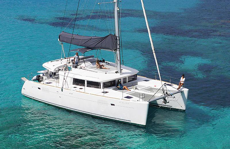 rent catamaran ibiza lagoon 450