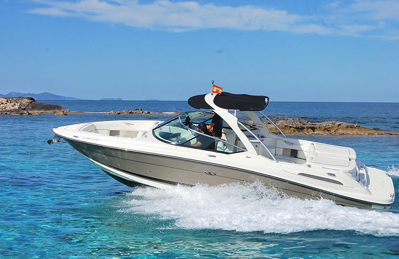 rent boat ibiza sea ray 270