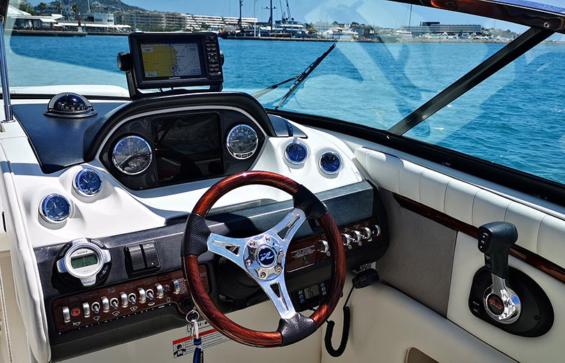 rent boat ibiza sea ray 270
