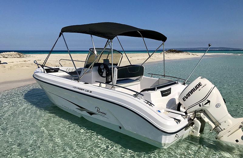 rent boat ibiza ranieri 19