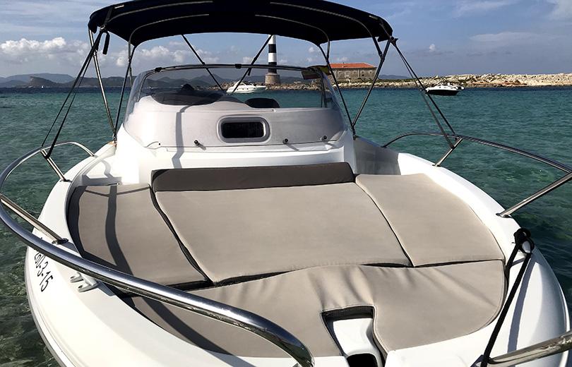 rent boat ibiza cap camarat 6,5