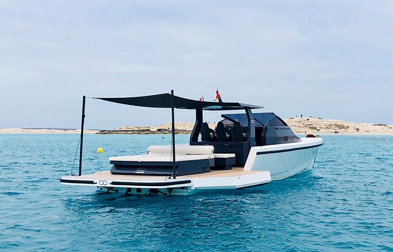 rent boat in ibiza seanfinity 47