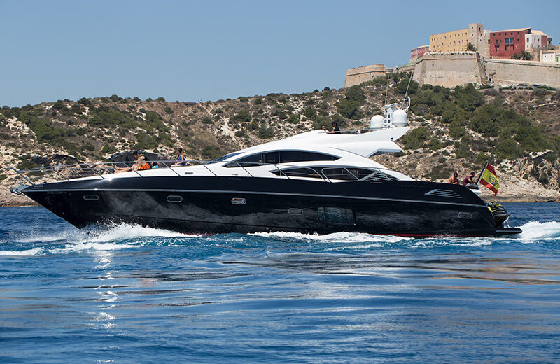 rent boat ibiza predator 74