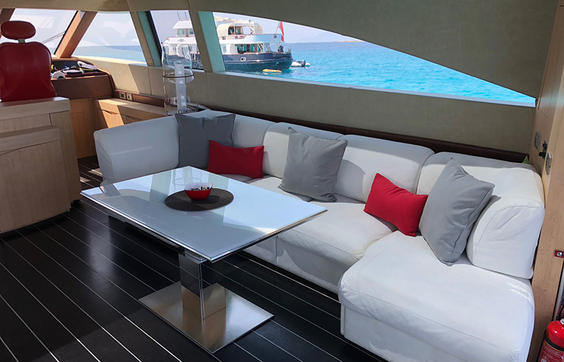 rent boat in ibiza AB 78