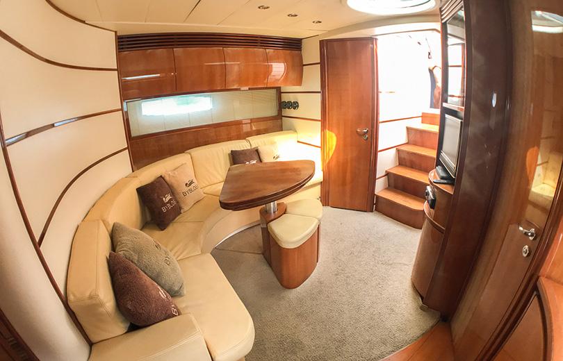 rent boat in ibiza Pershing 50