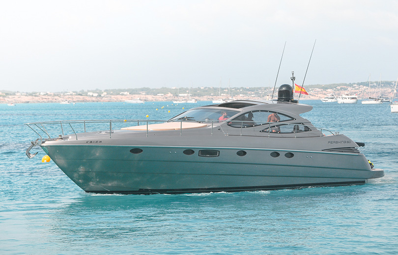 rent boat in ibiza Pershing 50