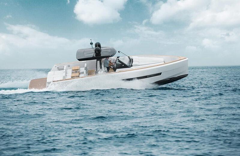 Alquiler de lancha Fjord 44 en Ibiza
